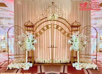 New Wedding Gate Style Metal Arch Decor