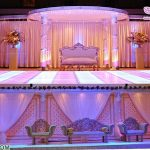 Affordable Indian Crystal Wedding Mandap USA