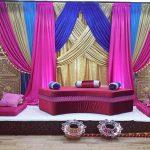 Arabian Mehndi Night Function Stage Decor