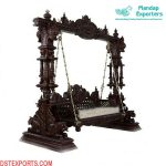 Buy Teak Wood Handicraft Swing For Home