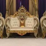 Designer Wedding Event Throne Furniture Set