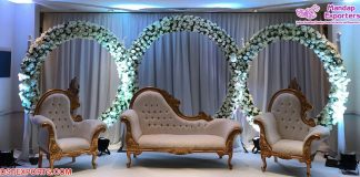 Modern Wedding Reception Stage Sofa Set
