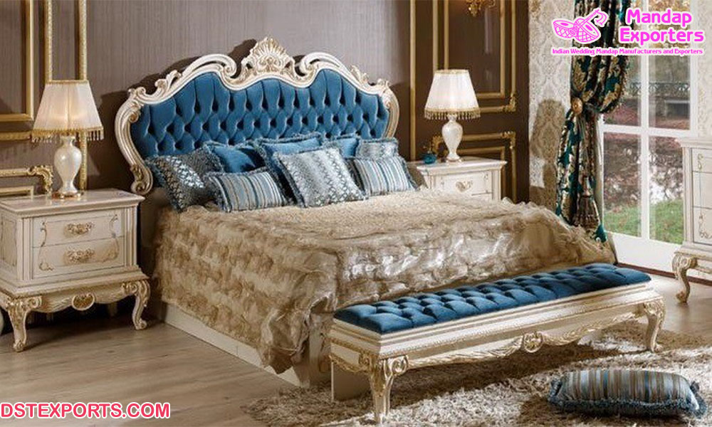 Royal European Style Home Bedroom Set Mandap Exporters