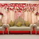 Royal Wedding Gold Carving Furniture Set