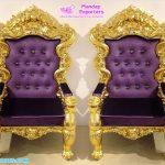 Wholesale Designer Bride & Groom Wedding Throne Chairs