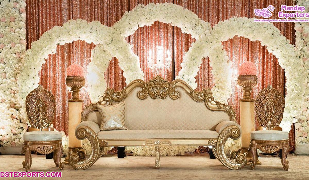 Wholesale Price Wedding Event Furniture Set Mandap Exporters