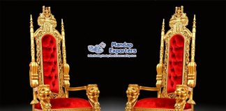 Wholesale Price Wedding Events King Throne Chairs