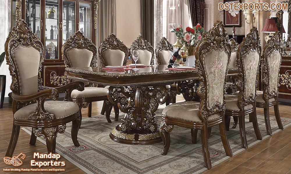 Dining Set Mandap Exporters, 11 Piece Dining Room Set