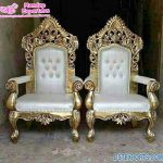 Affordable King & Queen Wedding Throne Chairs