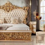 Classic Hand Carved King Queen Beds