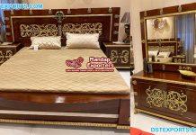 Italian Luxury Hand Carved Bedroom Furniture