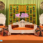 Moroccan Wedding Reception Stage Sofa Set