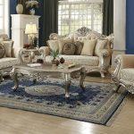Stunning Italian Wood Livingroom Sofa Set