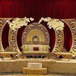Trending Wedding Reception Stage Frames Panels