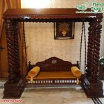 Wholesale Solid Wood Home Decor Swing Jhula