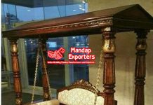Best Quality Traditional Indian Wooden Swing