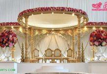 Designer Wooden Handcrafted Queen Wedding Mandap