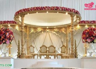 Designer Wooden Handcrafted Queen Wedding Mandap