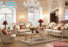 Elegance Italian Baroque Living Room Furniture