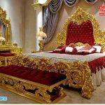 Imperial Style Teak Wooden Carving Bedroom Furniture