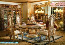 Royal Teak Wood Dining Table & Chairs Set