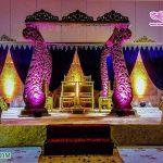 Traditional Indian Mayuri Wedding Mandap