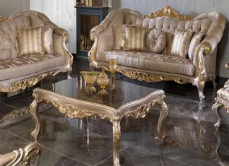 Victorian Teak Wood Living Room Sofa Set