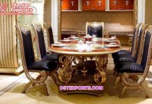 Beautiful French Style Antique Dining Table Set