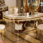 Beautiful Handcrafted Royal Dining Table Set