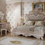 Elegant French Style Teak Wooden Bedroom Furniture
