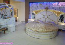 Elegant White Finish Queen Bedroom Furniture