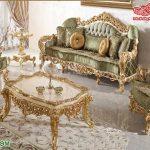 European Baroque Design Living Room Furniture