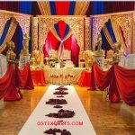 Indian Wedding Ceremony Open Style Mandap
