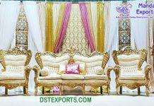 Indian Wedding Stage Affordable Sofa Set