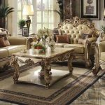 Luxurious French Style Living Room Sofa Set