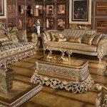 Luxury Antique Carved Living Room Furniture