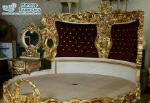 Luxury Design Queen Size Round Bed