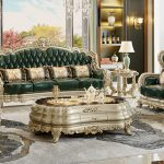 Luxury European Royal Living Room Furniture