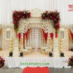 Marvelous Wedding Ceremony Event Mandap Decor