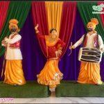 Punjabi Culture Wedding Bhangra Statues For Decoration