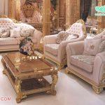 Classic & Vintage Solid Teak Wood Sofa Set