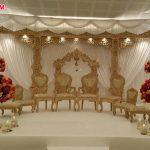Modern Style Open Mandap Wedding Chairs