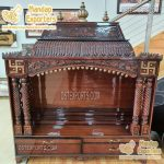 Buy Handicraft Temple with Teak Wood Finish