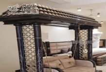 Buy Teak Wood Carved Indoor Home Swing