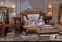 European Style Wooden Bedroom Furniture Set
