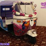 Fantastic Bride Groom Entry Auto Rickshaw
