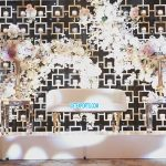 Gorgeous Wedding Stage Candle Wall