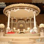 Gorgeous White Palace Wedding Mandap USA