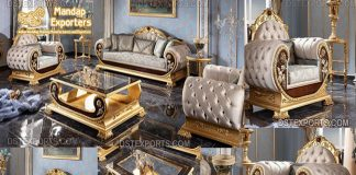 Imperial European Style Living Room Furniture