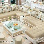 Modern U-Shape Living Room Sofa